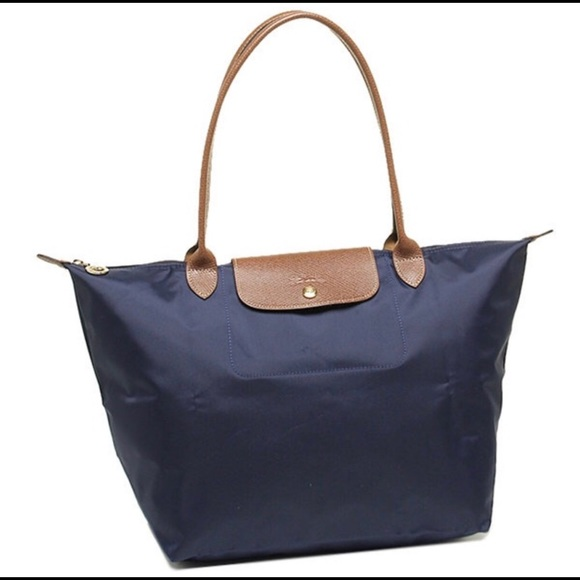 f9149f73f05 Longchamp Bags   Authentic Le Pliage Large Tote Navy New   Poshmark